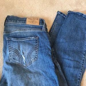 Distressed Hollister Boyfriend Jeans